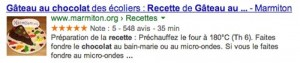 Rich snippets recette